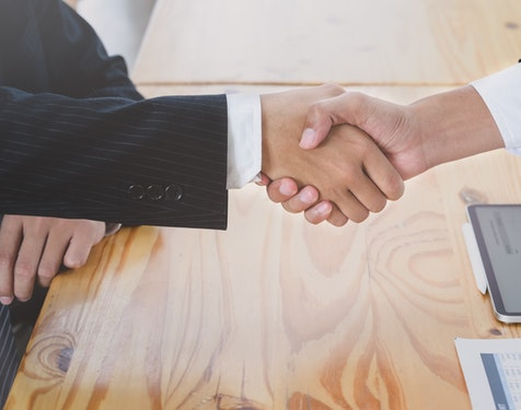 Excellent relationships with Business partners